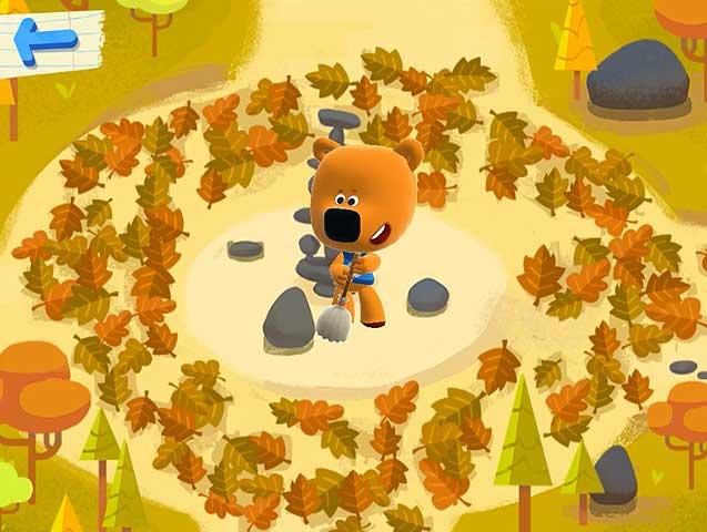 Мини-игры - Опавшие листья