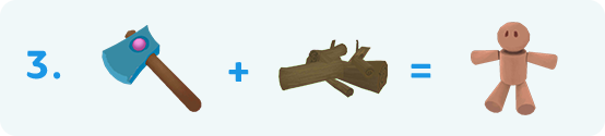 топор и дрова