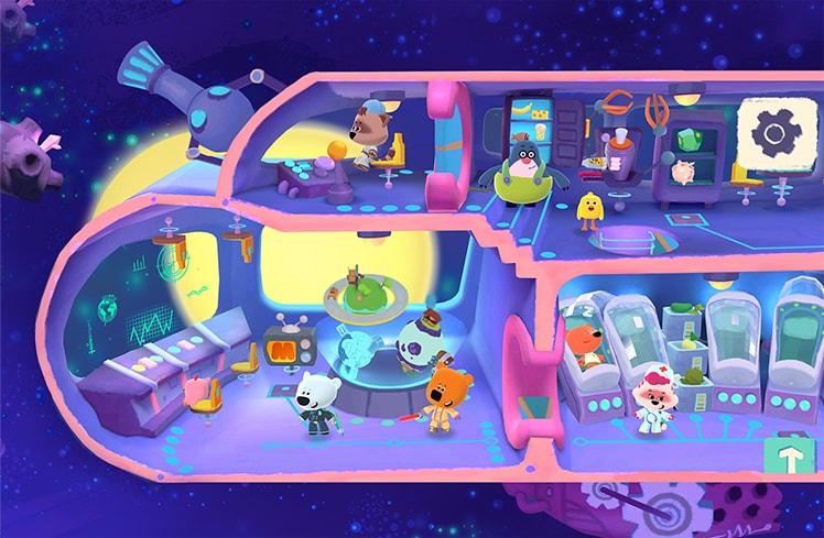 Ми-ми-мишки в космосе - Скриншот 5