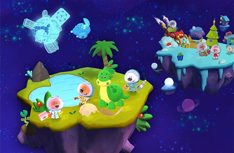 Ми-ми-мишки в космосе - Скриншот 4