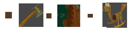 Если рубить дерево топором, то получишь деревянную лошадку