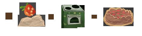 Если взять тесто, соединить с клубникой и поставить в духовку, получится пирог с клубникой