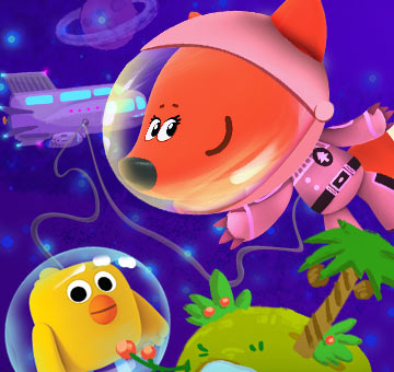 Мишки в космосе